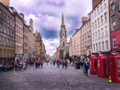 ProFuse pipe reigns supreme in Edinburgh's Royal Mile pipe replacement project