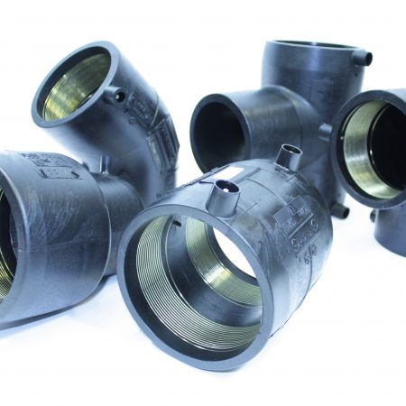 Electrofusion fittings for energy and power pipes